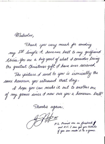 Thank you letter to my boyfriend design templates arthur w perdue stadium the ballpark guide expocarfo Image collections