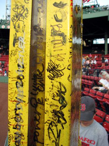 fenway-park-pesky's-pole-signatures