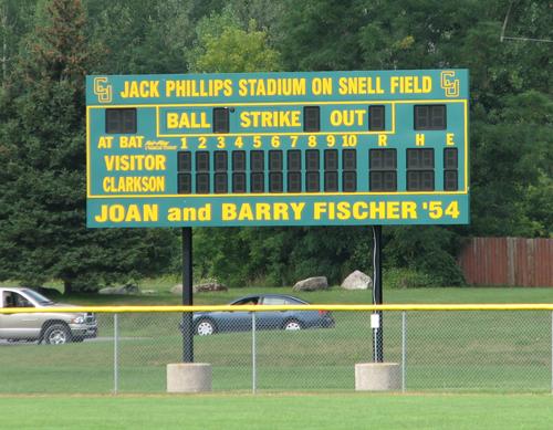 clarkson-university-baseball-scoreboard