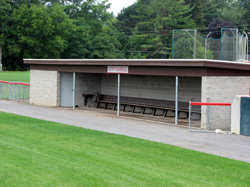 st-lawrence-university-baseball-dugout