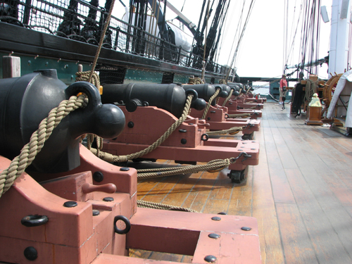 American History, a Super Bowl Ring, Choppers and More ... Uss Constitution Pictures Of Deck