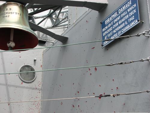 uss-massachusetts-shrapnel-damage