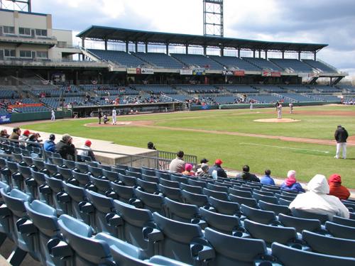 nbt-bank-stadium-first-base-side-view
