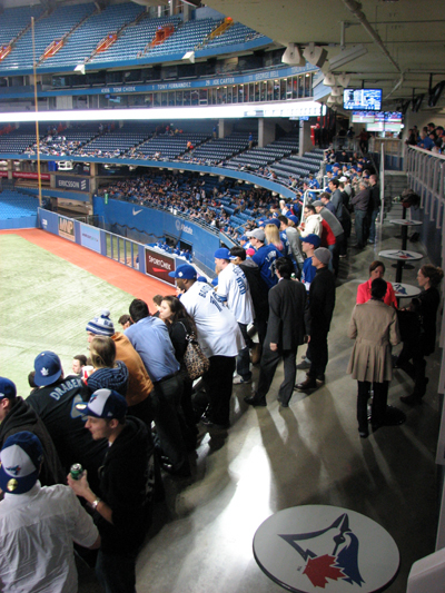 Rogers Centre 200 Level Standing Room Full