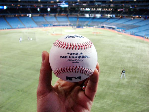 rogers-centre-batting-practice-ball