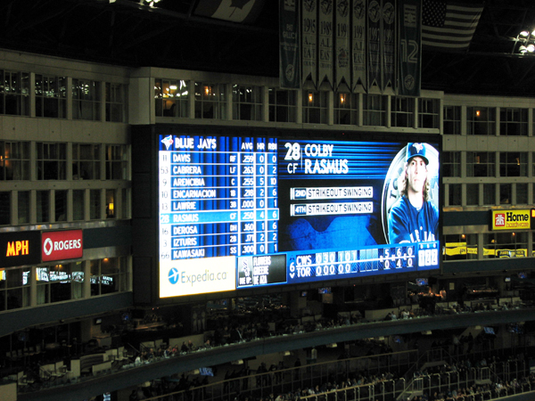 rogers-centre-video-board-colby-rasmus