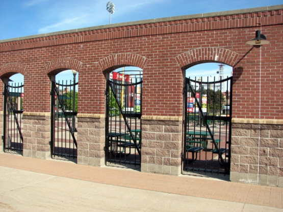 frontier-field-brick-wall-outside-park