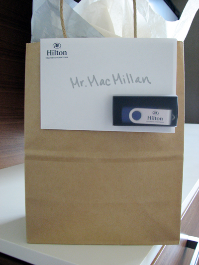 hilton-columbus-downtown-malcolm-gift-bag