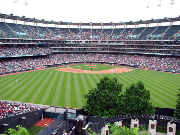 progressive-field-view-from-parking-garage-bridge