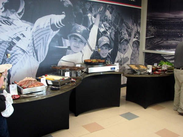 progressive-field-cleveland-media-dining-room-buffet