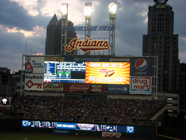 progressive-field-cleveland-video-board-night