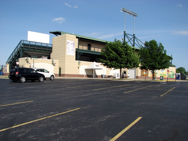whitaker-bank-ballpark-from-parking-lot