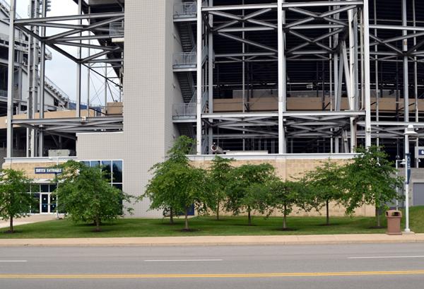 beaver-stadium-former-statue-area