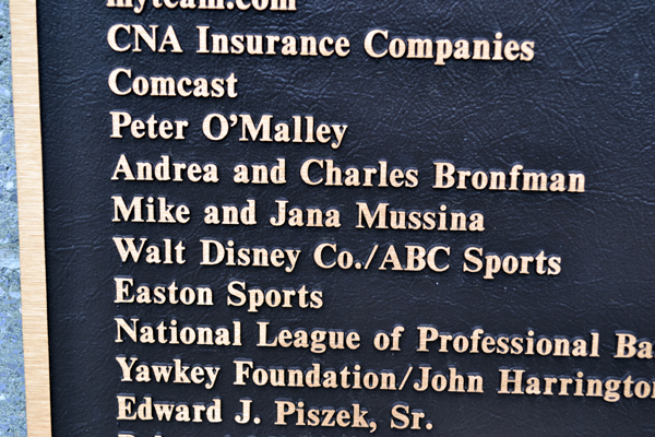 little-league-complex-donor-plaque
