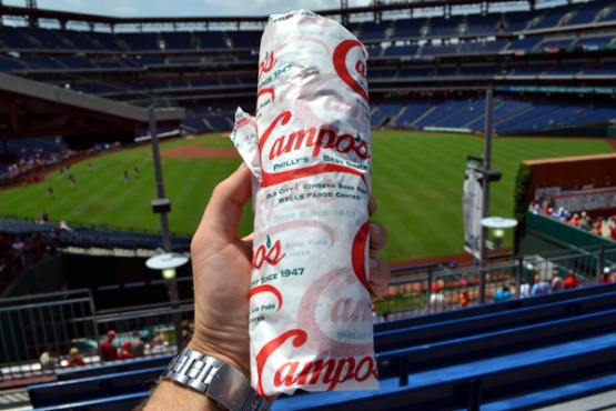 citizens-bank-park-food-campos-cheesesteak-wrapped