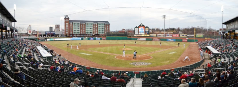 northeast-delta-dental-stadium-behind-home-plate-panorama
