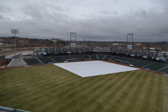 northeast-delta-dental-stadium-gray-day