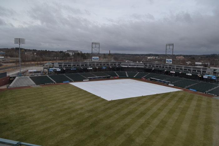 northeast-delta-dental-stadium-gray-day
