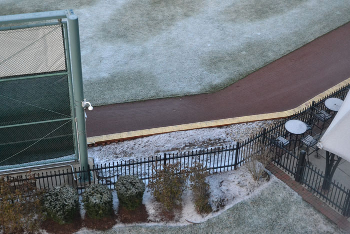northeast-delta-dental-stadium-snow-below-window