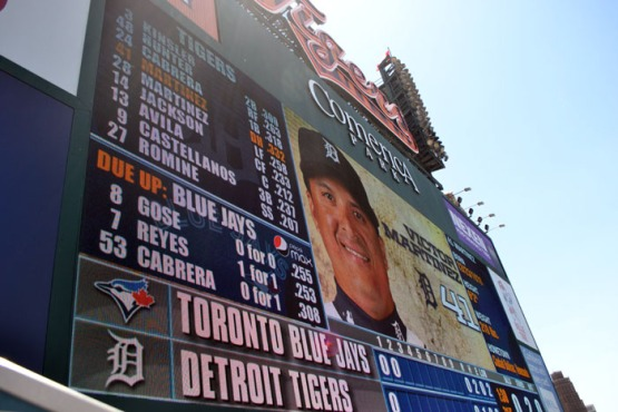 comerica-park-video-board-victor-martinez