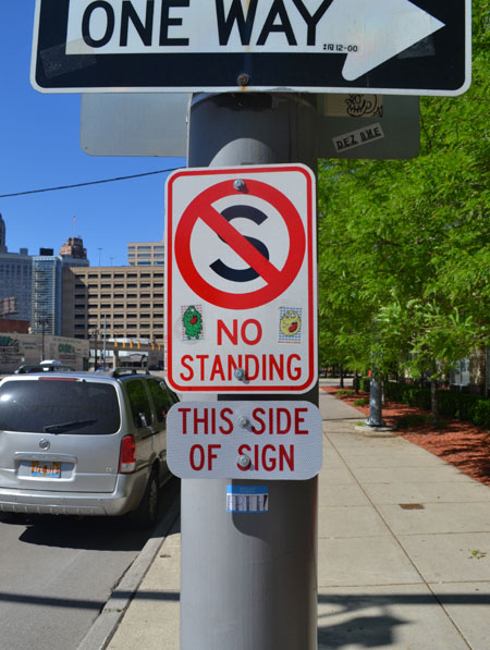 detroit-no-standing-sign