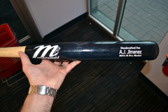 aj-jimenez-game-used-bat