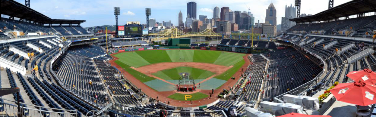 Pnc Park Behind Home Plate View Panorama