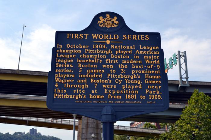 Pnc Park First World Series Plaque