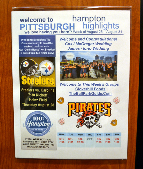 hampton-inn-suites-pittsburgh-downtown-welcome-sign