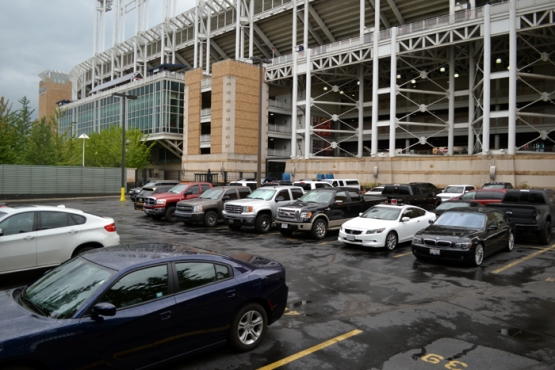 progressive-field-players-parking-lot