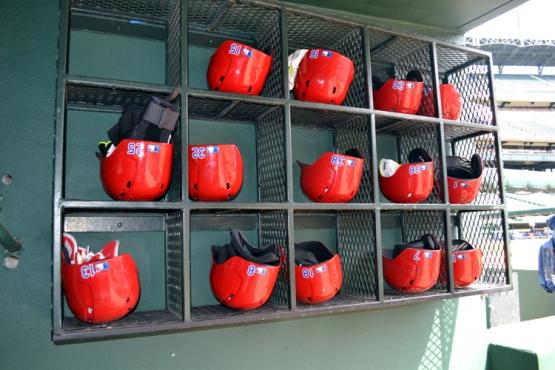 globe-life-park-rangers-helmets