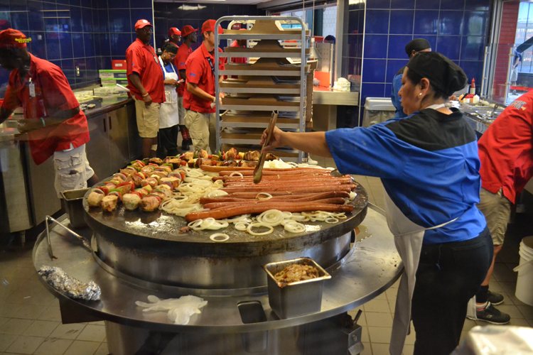 How Much Are Hot Dogs At Globe Life Park
