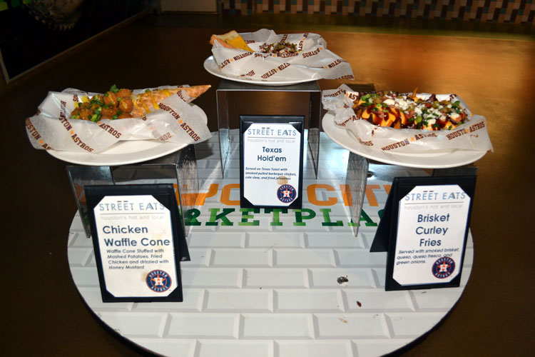 Minute Maid Park Food Selections The Ballpark Guide