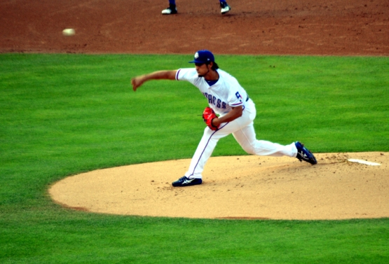 round-rock-express-yu-darvish-pitching
