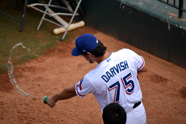 round-rock-express-yu-darvish-water