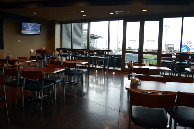 whataburger-field-club-dining-area