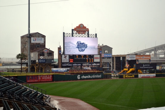 whataburger-field-rain-view