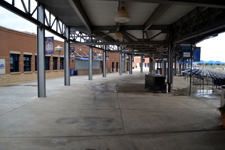 security-bank-ballpark-empty-concourse-early