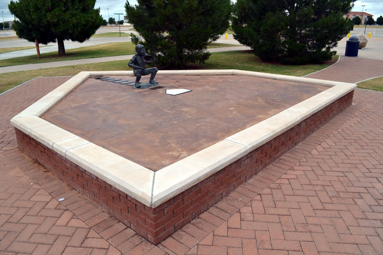 security-bank-ballpark-home-plate-statue