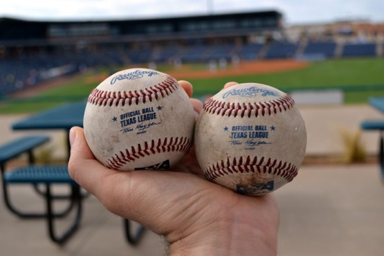 security-bank-ballpark-texas-league-balls