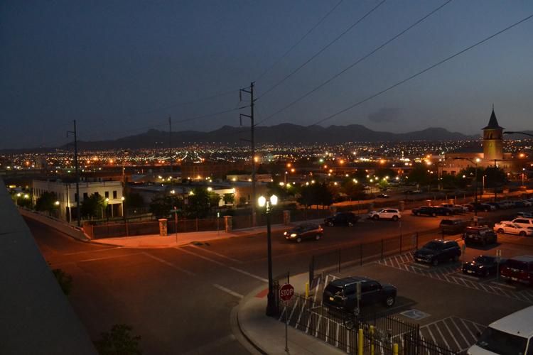 southwest-university-park-mexico-view-night