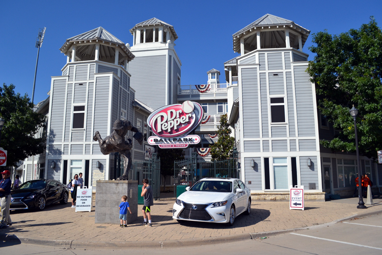 dr-pepper-ballpark-front-gates