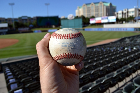 dr-pepper-ballpark-scuffed-texas-league-ball