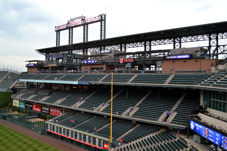 Coors Field The Ballpark Guide