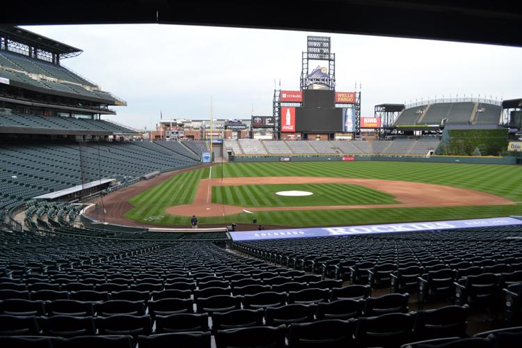 Coors Field Ballpark Tours